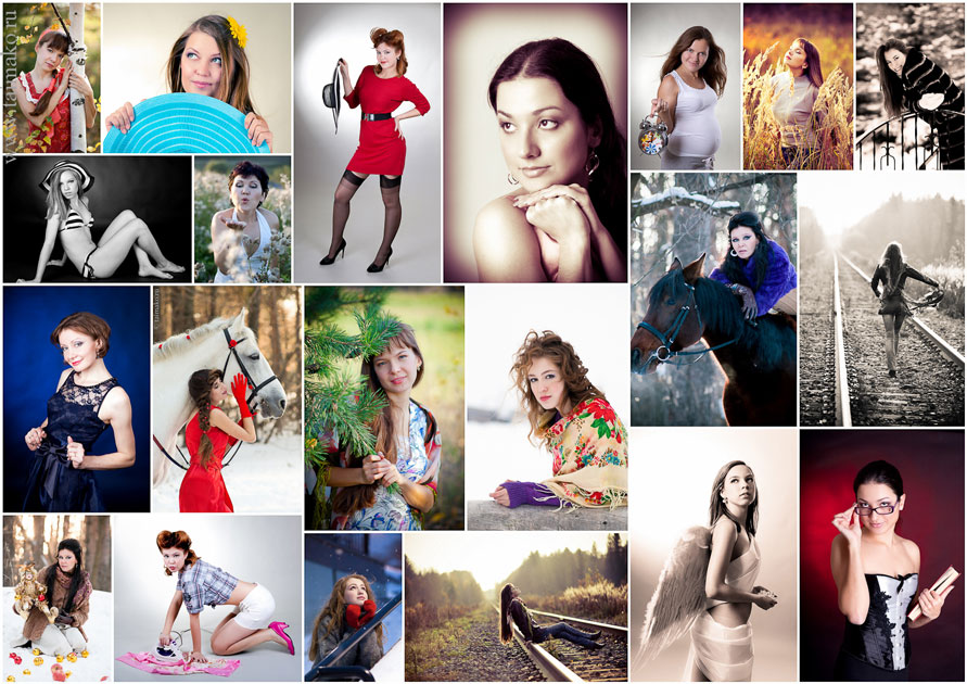 Фотошоп онлайн коллаж сделать