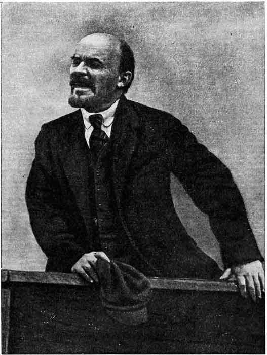 Ленин перед рабочими