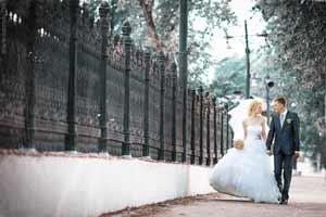 Жених с невестой фото