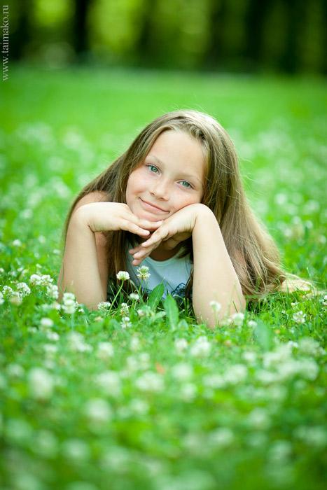 Летняя детская фотосъёмка