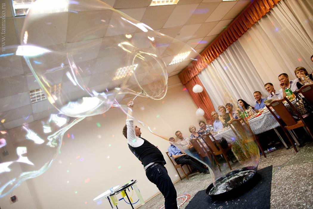 Шоу мыльных пузырей в Ижевске