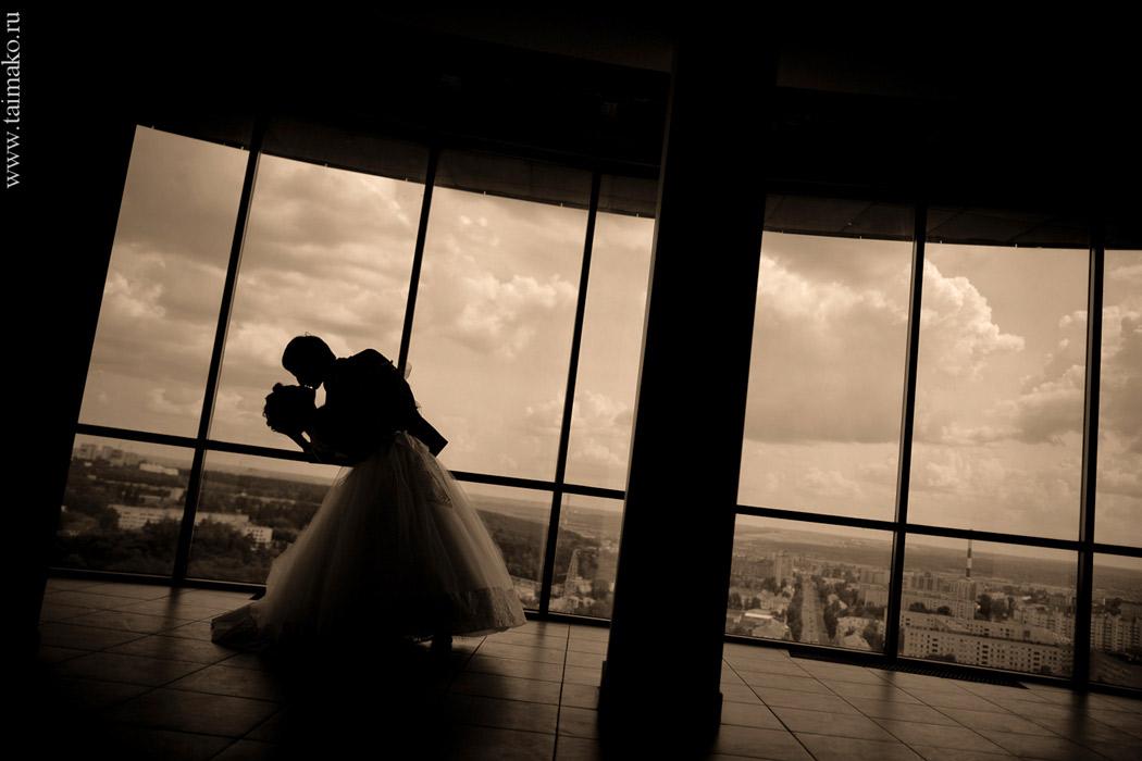Особенная свадебная фотосессия