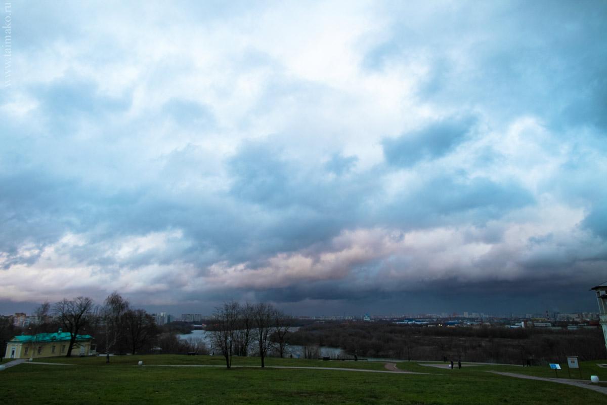 Панорама возле Передних Ворот Государева Двора