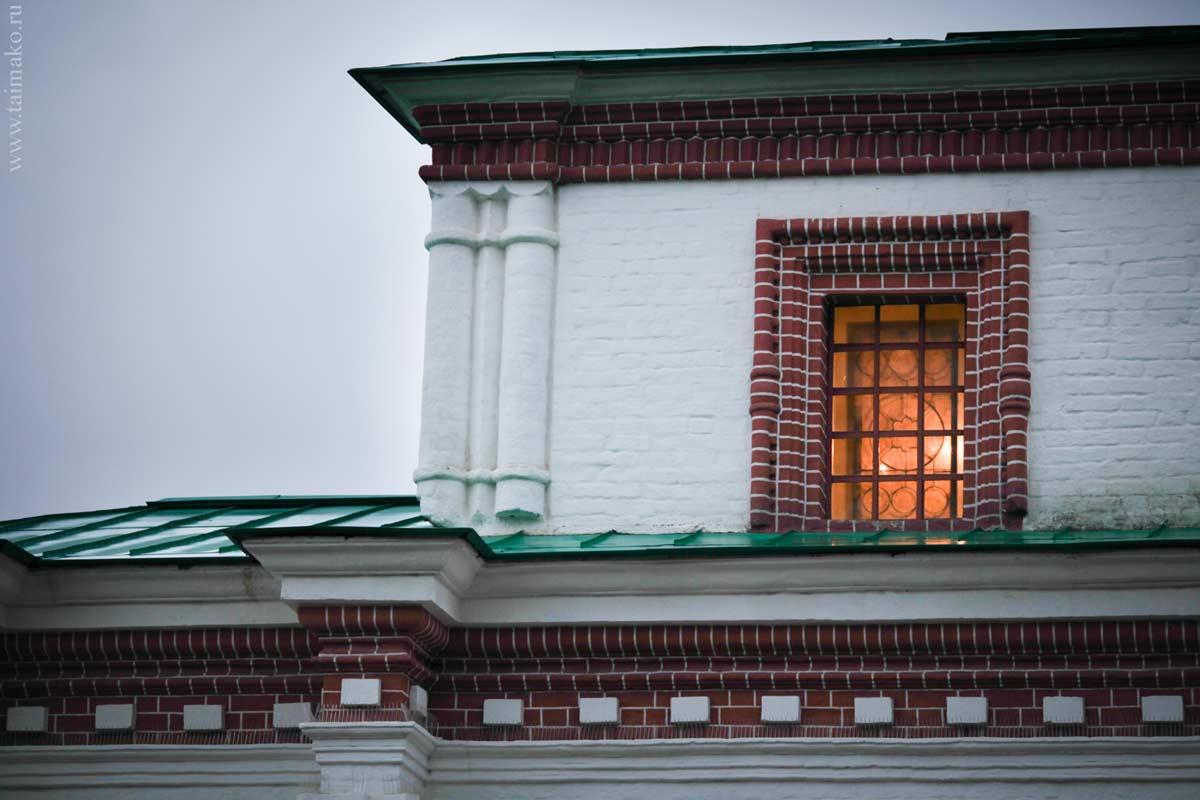 Передние ворота Государева двора.