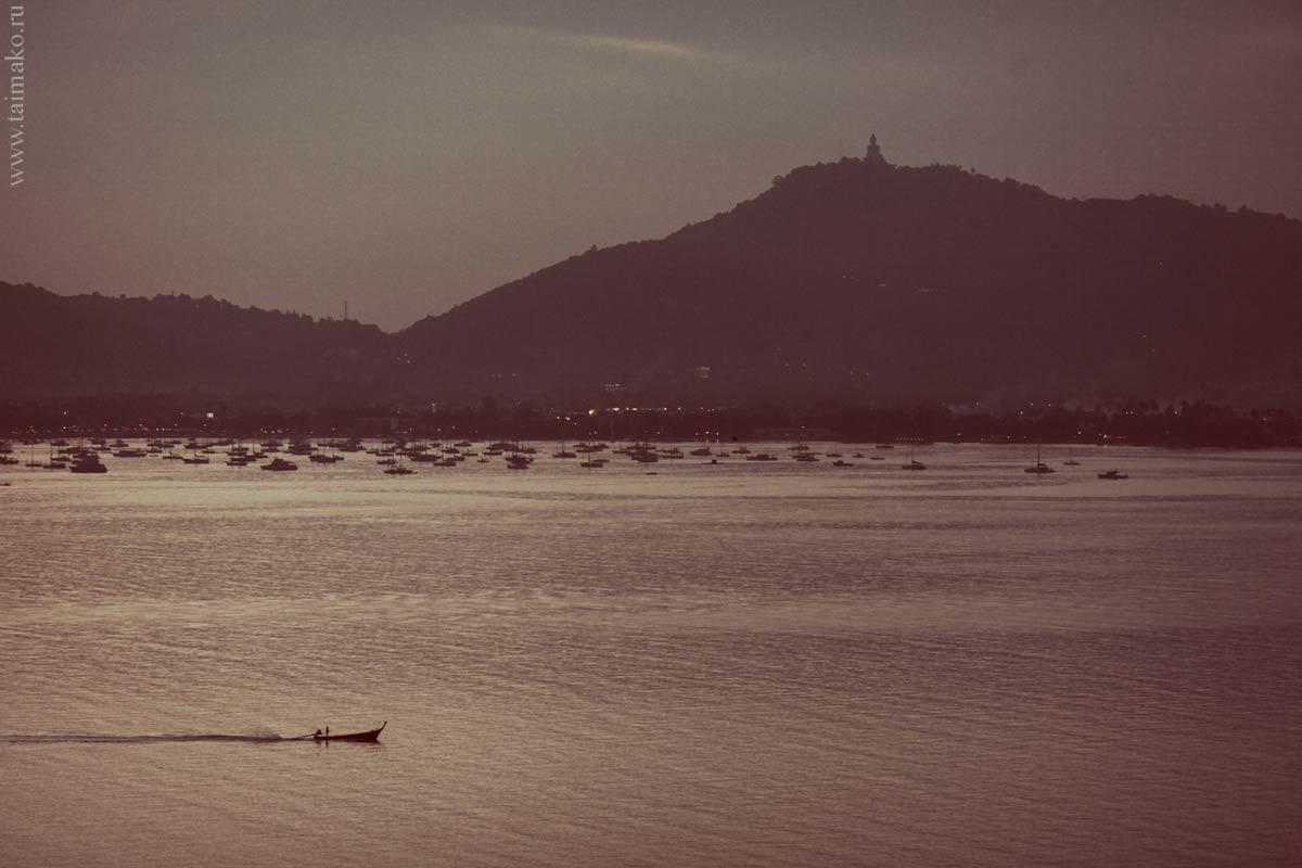Вид с Панвы на противоположную сторону Palai Bay
